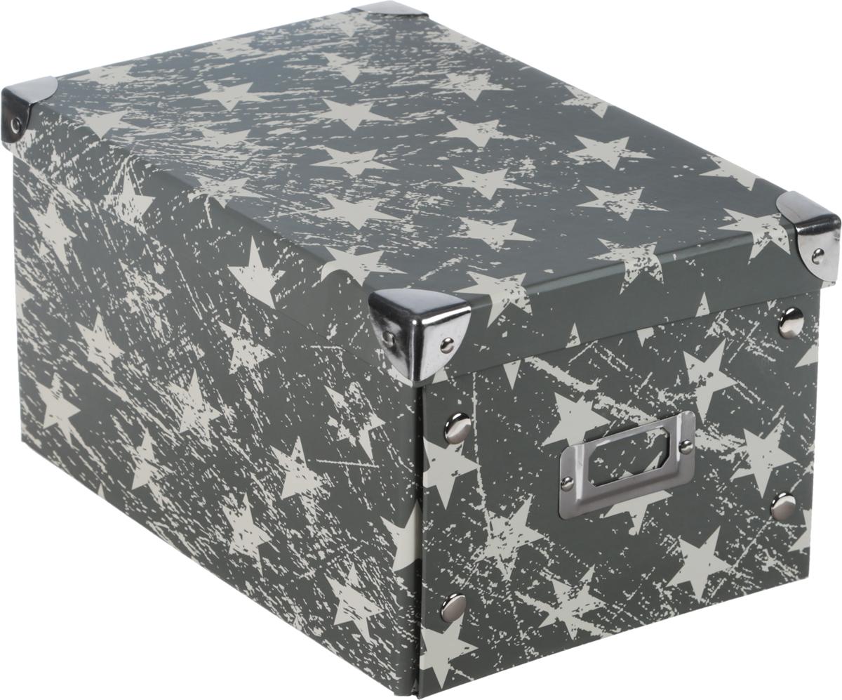 Коробка для хранения, складная, цвет: хаки, бежевый, 21 х 25,5 х 328907 4Коробкадля хранения изготовлена из высококачественного плотного картонаи оформлена оригинальным принтом. Она предназначена для хранения различных мелочей. Изделие легко собирается с помощью металлических креплений и не занимает много места. Такая коробка для хранения идеальное решение для аккуратного хранения различных ниток, канцелярских товаров.Размер коробки (в собранном виде): 21 х 25,5 х 3 см.