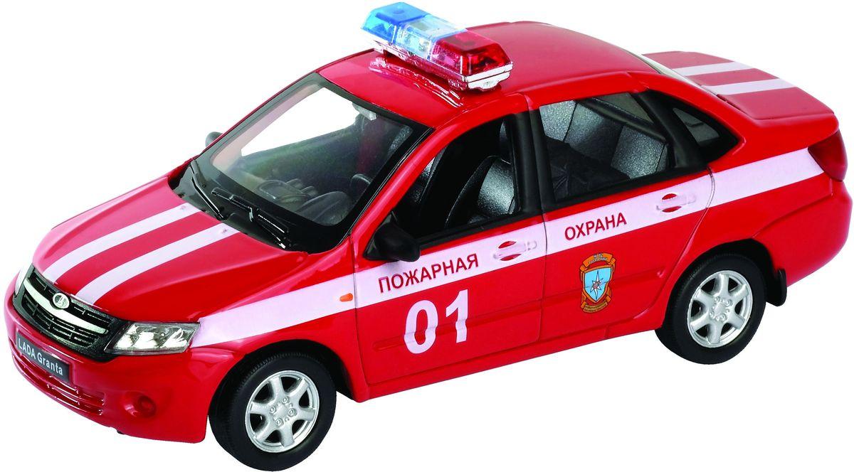 Welly Модель автомобиля LADA Granta Пожарная охрана welly модель автомобиля audi r8 v10 цвет красный