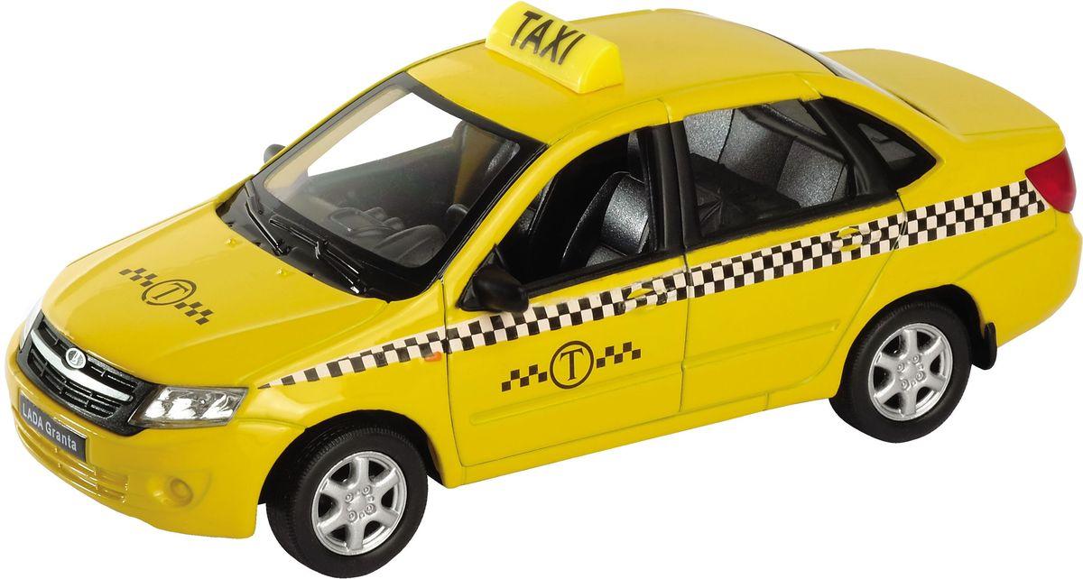 Welly Модель автомобиля LADA Granta Такси welly модель автомобиля audi r8 v10 цвет красный
