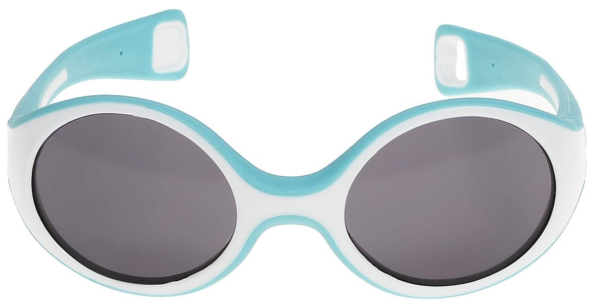 Beaba Солнцезащитные очки детские Sunglasses Baby 360 S категория 3 цвет голубойINT-06501Детские очки Baby S Beaba - идеальная защита от агрессивных УФ лучей.Детские очки Baby S Beaba 3 категории защитят кроху от УФ лучей при любых обстоятельствах: на прогулке, на море, в горах.Качество и безопасность с оптимальной защитой от ультрафиолетовых лучей (UVA, UVB) - 3 категория.Эргономичная оправа 360°. Специально разработанная из двух дополняющих друг друга материалов гибкая оправа повторяет морфологию головы малыша, не давит за ушами. Благодаря более нежному внутреннему слою, очки не давят на нос. Основа – полипропилен и СЕБС. Небьющиеся стекла. С 9 месяцев для ребенка, сидящего в коляске. Сделано во ФранцииОфтальмологи со всего мира все чаще говорят о необходимости защиты детских глаз от агрессивного солнца. Данная тенденция ничуть не является данью моде, а становится острой необходимостью, которую врачи осознали благодаря современным исследованиям.