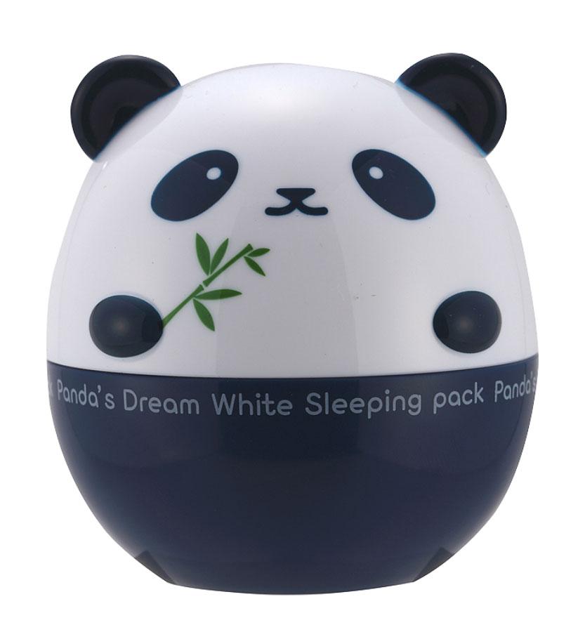 TonyMoly Ночная маска для лица Pandas Dream White Sleeping Pack, 50 грSS04019400Маска в течение ночи ухаживает за вашей кожей и выравнивает цвет лица. Эффективно выравнивает цвет кожи, подавляет образование пигментации, успокаивает и расслабляет кожу. Регенерирует, разглаживает, повышает эластичность и упругость кожи, придает ровный и красивый цвет коже.