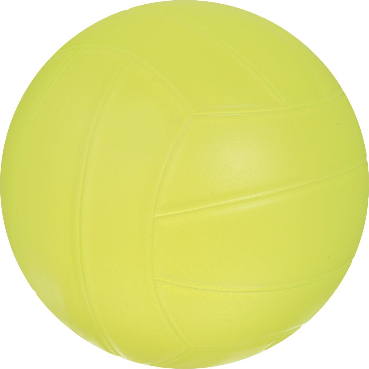 Весна Мяч детский волейбольный цвет желтый диаметр 22,5 см