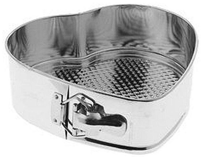 Форма для выпечки Мультидом Сердце, разъемная, 22 х 21 см59074Кулинарные формы - удобное и незаменимое приспособление для любителей выпечки. Форма имеет разъемный механизм и съемное дно, поэтому вынимать из нее готовую выпечку очень легко и удобно. Необходимо лишь вставить форму в дно и залить или выложить в нее тесто. Выпекать в соответствии с вашим рецептом. Выпечка в форме сердца порадует ваших близких и станет отличным подарком для любой хозяйки! Во избежание пригорания коржа, вы можете выстилать дно формы бумагой для выпечки. После использования легко и быстро моется. Подходит для использования в духовках. Не подходит для использования в СВЧ. Можно мыть в посудомоечной машине. Размер 20 х 21 см, высота 7 см. Изготовлено из луженой стали.