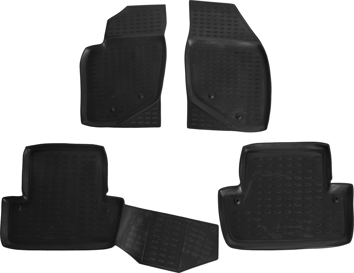 Набор автомобильных ковриков Novline-Autofamily для Volvo S60 2001-2009, в салон, 4 штст18фНабор автомобильных ковриков Novline-Autofamily, изготовленный из полиуретана, состоит из 4 ковриков, которые учитывают все особенности каждой модели автомобиля и полностью повторяют контуры пола. Полиуретановые автомобильные коврики для салона произведены из высококачественного материала, который держит форму, прочный и не пачкает обувь. Коврики в салон не только улучшат внешний вид салона вашего автомобиля, но и надежно уберегут его от пыли, грязи и сырости, а значит, защитят кузов от коррозии. Полиуретановые коврики для автомобиля гладкие, приятные и не пропускают влагу. Ковры для автомобилей надежно крепятся на полу и не скользят, что очень важно во время движения. Чистятся коврики очень просто: как при помощи автомобильного пылесоса, так и различными моющими средствами. Набор подходит для Volvo S60 2001-2009 годов выпуска.