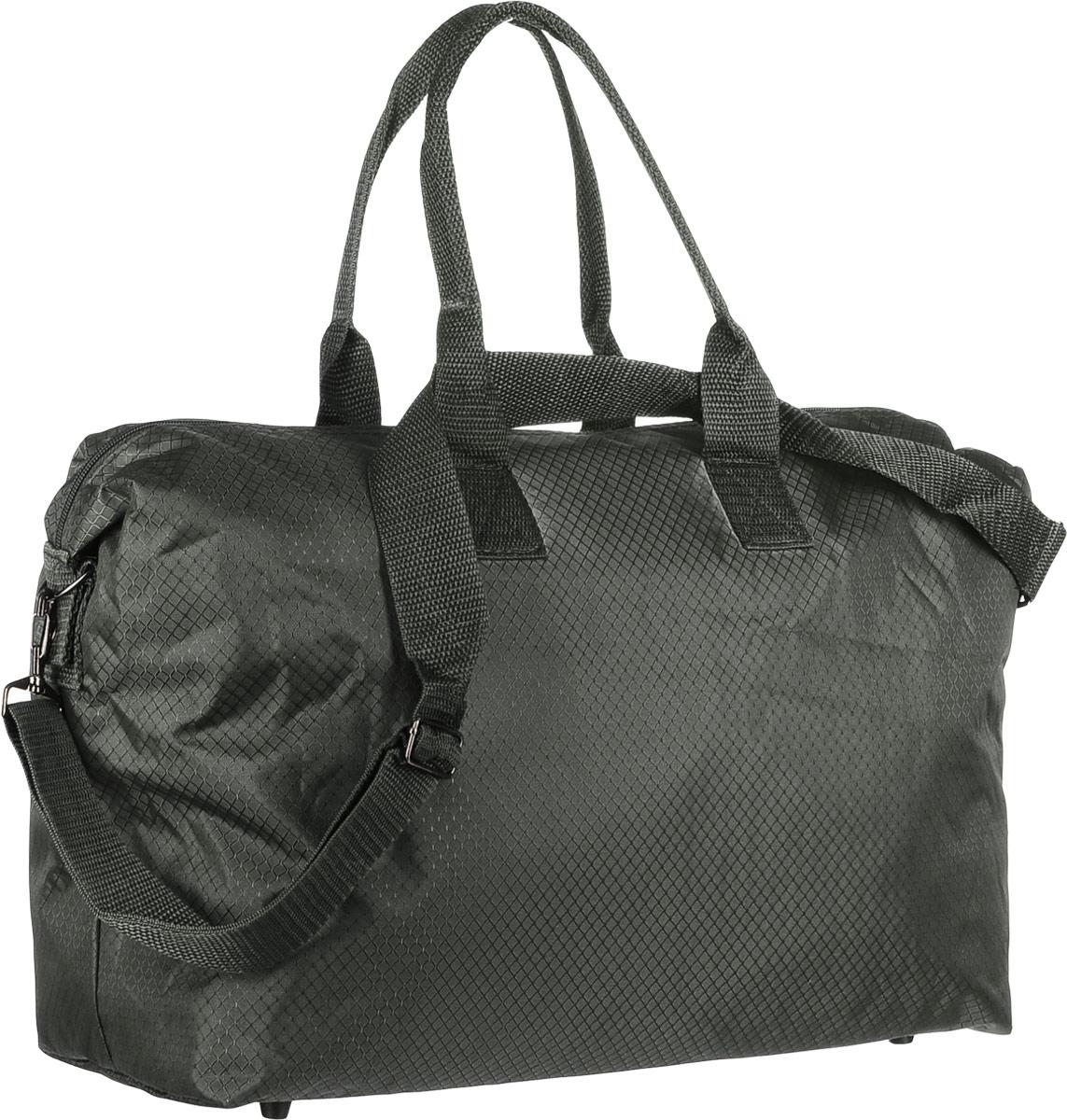 Сумка дорожная Sarabella, цвет: зеленый, 43 х 18 х 32 см. 1388688MABLSEH10001Дорожная сумка Sarabella выполнена из текстиля. Изделие оформлено принтом в клетку. Сумка оснащена двумя удобными ручками и съемным плечевым ремнем, длина которого регулируется с помощью пряжки. Изделие закрывается на застежку-молнию. Внутри расположено главное вместительное отделение с накладным карманом, закрывающимся на молнию. Дно сумки имеет жесткую вставку и пластиковые ножки.Размер сумки: 43 х 18 х 32 см.