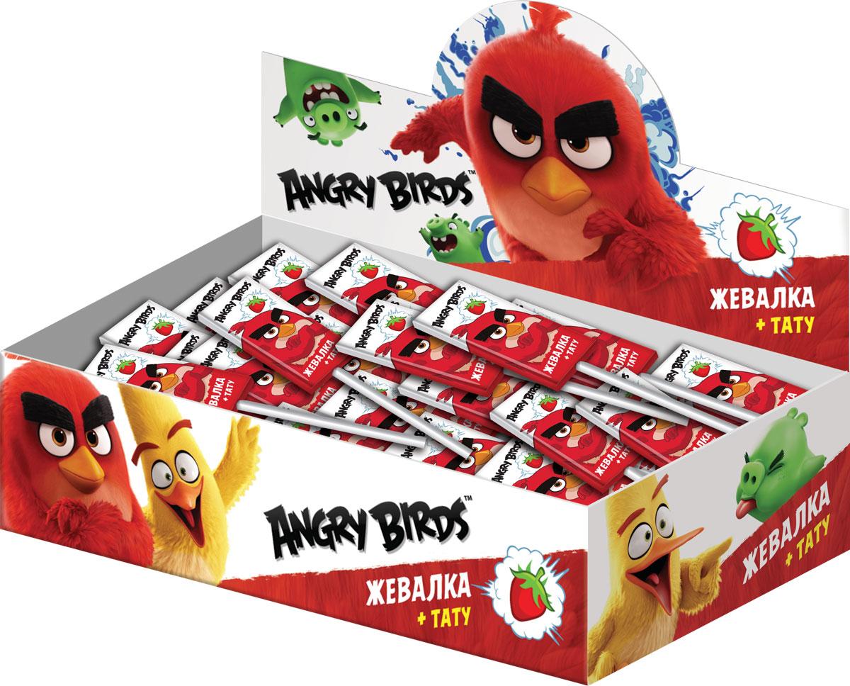 Angry Birds Movie жевательная конфета с подарком, 50 шт по 10,8 г0120710Жевательная конфета + тату в подарок.