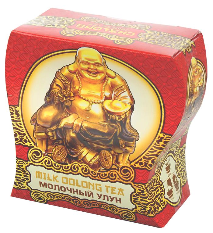 Dolche Vita Сhalong чай молочный улун, 100 г4630006820522Китайский зеленый чай, ароматизированный, Молочный улун.