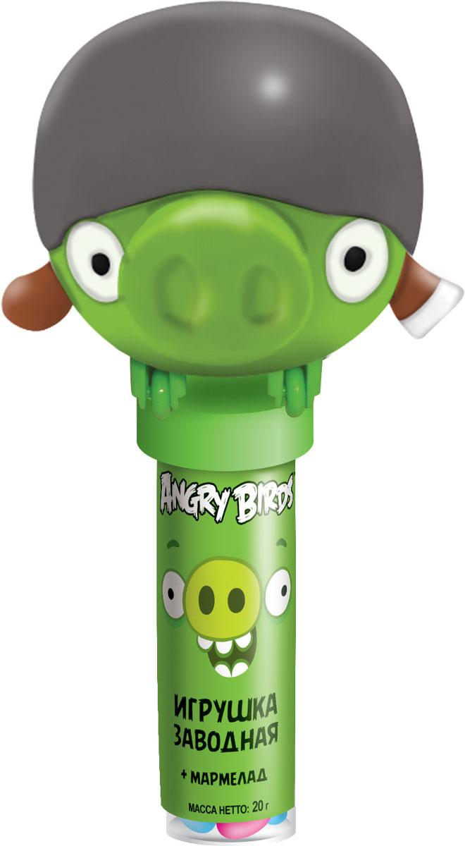 Angry Birds мармелад жевательный с игрушкой, 20 г079Пластиковая туба из пищевого материала с игрушкой в виде героев AB. 3 вида игрушек: красная птица, чёрная птица, свинка в каске.