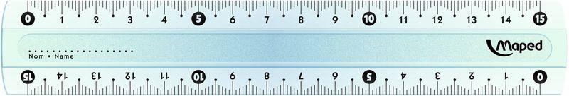 Maped Линейка Start 15 смFS-36055Start Линейка 15 см, высококачественная градуировка - УФ чернила.