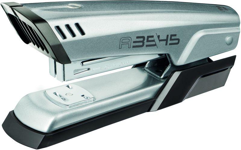 Maped Степлер AdvancedFS-00897Степлер настольный эргономичный, на 25 листов, скобы 24/6 и 26/6, с механизмом защиты от застревания скоб.