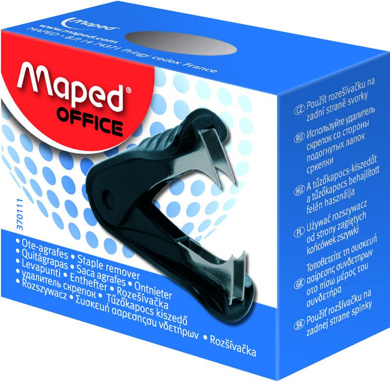 Maped Антистеплер СтартFS-36054Start Антистеплер с нескользящей зоной захвата.