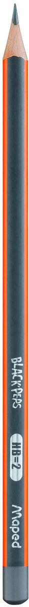 Maped Карандаш чернографитный с ластиком НВ 3 шт72523WDКарандаш чернографитный из американской липы с ластиком, треугольный, ударопрочный грифель, НВ.