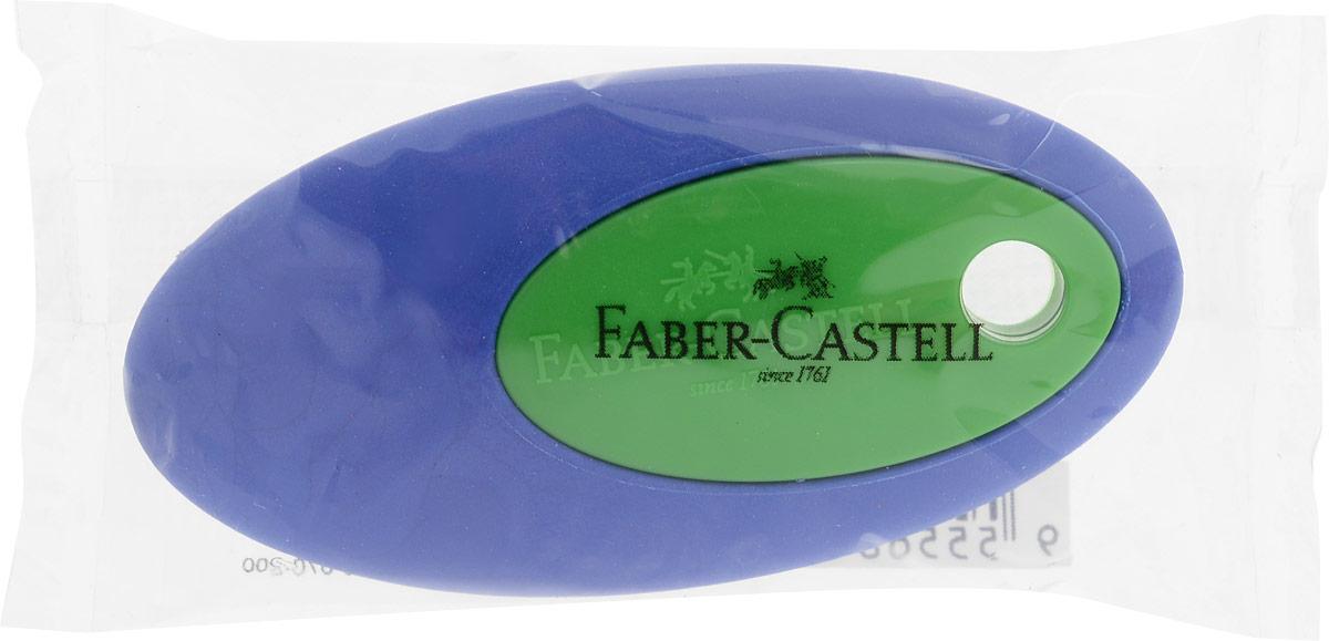 Faber-Castell Ластик цвет синий зеленый0703415Ластик Faber-Castell пригоден для графитных карандашей. Имеет овальную форму с пластиковой вставкой в центре.Не содержит ПВХ.