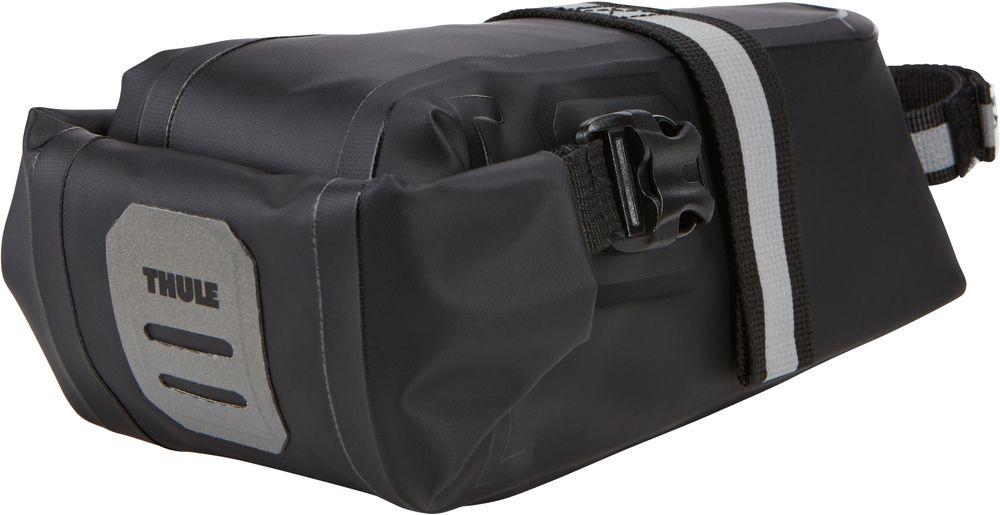 Подсидельная сумка Thule Shield, цвет: черный. Размер SZ90 blackПодсидельная сумка Thule Shield малая (S), черный