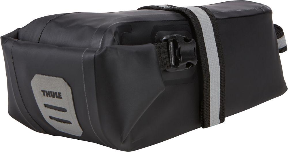 Подсидельная сумка Thule Shield, цвет: черный. Размер LZ90 blackПодседельная сумка Thule Shield большая (L), черный