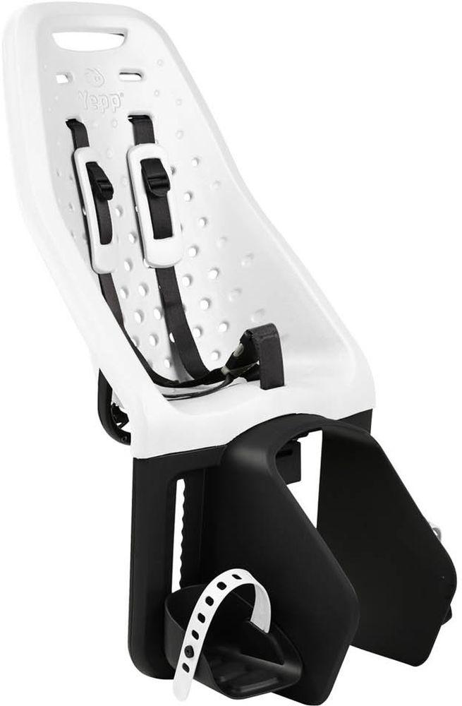 Детское велокресло Thule Yepp Maxi Easy Fit, цвет: белыйMW-1462-01-SR серебристыйДетское велосипедное кресло, вес всего 1.9 кг, устанавливается на переднюю часть велосипеда. Легкое, мягкое и прочное, оно обеспечит Вашему ребёнку высокий комфорт и отличный обзор.