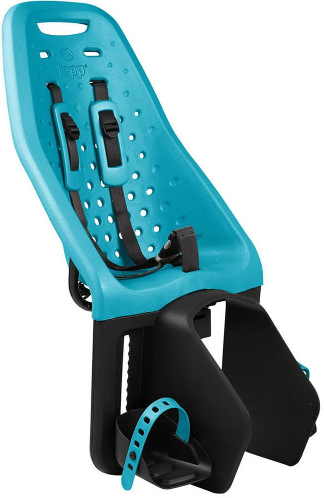 Детское велокресло Thule Yepp Maxi Easy Fit, цвет: морская волна12020230Невероятно продуманное, функциональное и стильное детское велосипедное сиденье Thule Yepp Maxi Easy Fit для ежедневных прогулок. Детское велосипедное кресло, вес всего 1.9 кг, устанавливается на переднюю часть велосипеда. Легкое, мягкое и прочное, оно обеспечит Вашему ребёнку высокий комфорт и отличный обзор. Детское велосипедное сиденье быстро и легко устанавливается на велосипед и крепится к заднему багажнику с окном EasyFit или багажнику, оснащенному переходником Thule Yepp Maxi EasyFit (продается отдельно).Мягкое сиденье, смягчающее толчки и вибрацию, обеспечивает абсолютный комфорт для ребенка .Максимальный комфорт и безопасность благодаря регулируемому 5-точечному ремню безопасности с подкладкой .Оснащенная защитой от детей пряжка позволяет быстро и легко зафиксировать ребенка. Дополнительная видимость на расстоянии благодаря встроенному рефлектору и точке крепления светового индикатора. Адаптируется к параметрам ребенка по мере его роста и обеспечивает идеальную посадку благодаря регулируемым опорам для ног и фиксирующему ремню.Благодаря водоотталкивающим материалам сиденье всегда остается сухим и легко чистится Разработано и протестировано для детей от 9 месяцев* до 6 лет, весом до 22 кг. (*Обратитесь к педиатру, если ребенку менее 1 года).