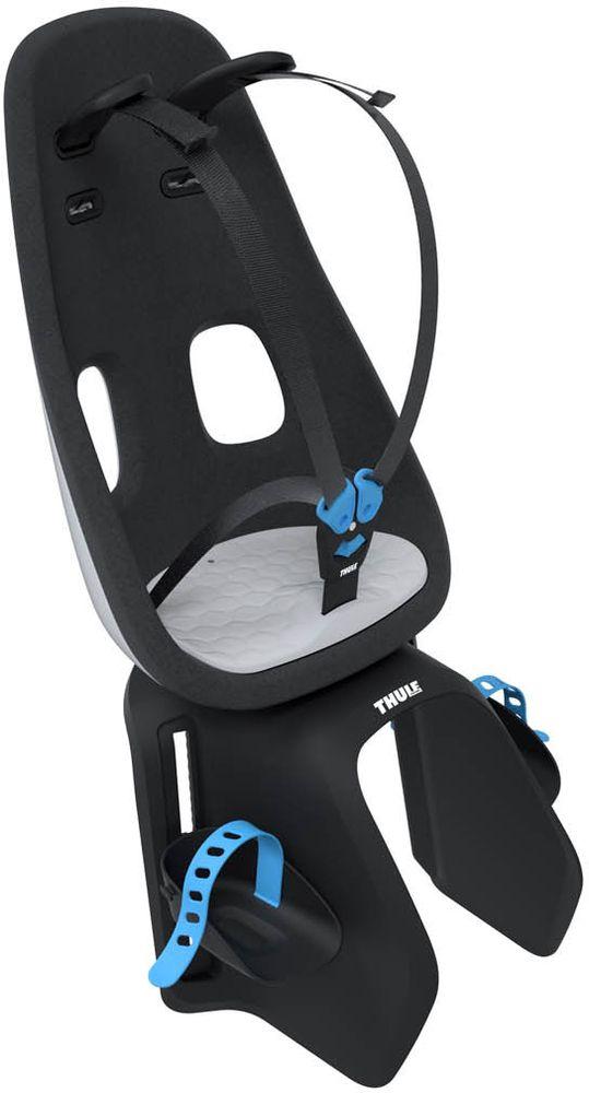 Детское велокресло Thule Yepp Nexxt Maxi Universal Mount, цвет: белый12080203Легкое и безопасное детское велосипедное сиденье Thule Yepp Nexxt Maxi Universal Mount, устанавливаемое сзади. Современный дизайн и непревзойденный комфорт для вашего ребенка. Максимальный комфорт и безопасность благодаря регулируемому 5-точечному ремню безопасности с подкладкой Сиденье, смягчающее толчки и вибрацию, обеспечивает плавную езду .Легкое, но прочное и невероятно удобное детское сиденье с жесткой основой и мягкой подбивкой. Фиксировать ребенка с помощью защитной пряжки на магните, оснащенной защитой от детей, очень быстро, легко и удобно. Адаптируется к параметрам ребенка по мере его роста и обеспечивает идеальную посадку благодаря регулируемым опорам для ног и фиксирующим ремням. Детское велосипедное сиденье быстро и легко устанавливается на заднем багажнике велосипеда. Дополнительная видимость на расстоянии благодаря встроенному рефлектору, который можно заменить задним фонарем (продается отдельно) Благодаря водоотталкивающим материалам сиденье всегда остается сухим и легко чистится.Разработано и протестировано для детей от 9 месяцев* до 6 лет, весом до 22 кг. (*Обратитесь к педиатру, если ребенку менее 1 года).
