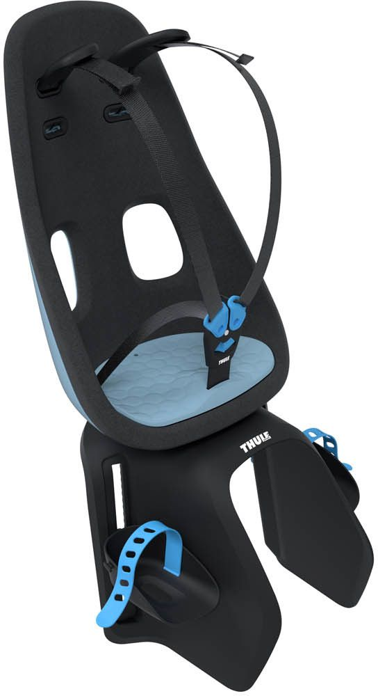 Детское велокресло Thule Yepp Nexxt Maxi Universal Mount, цвет: голубой12020253Детское велосипедное кресло для установки на раму велосипеда или велобагажник.