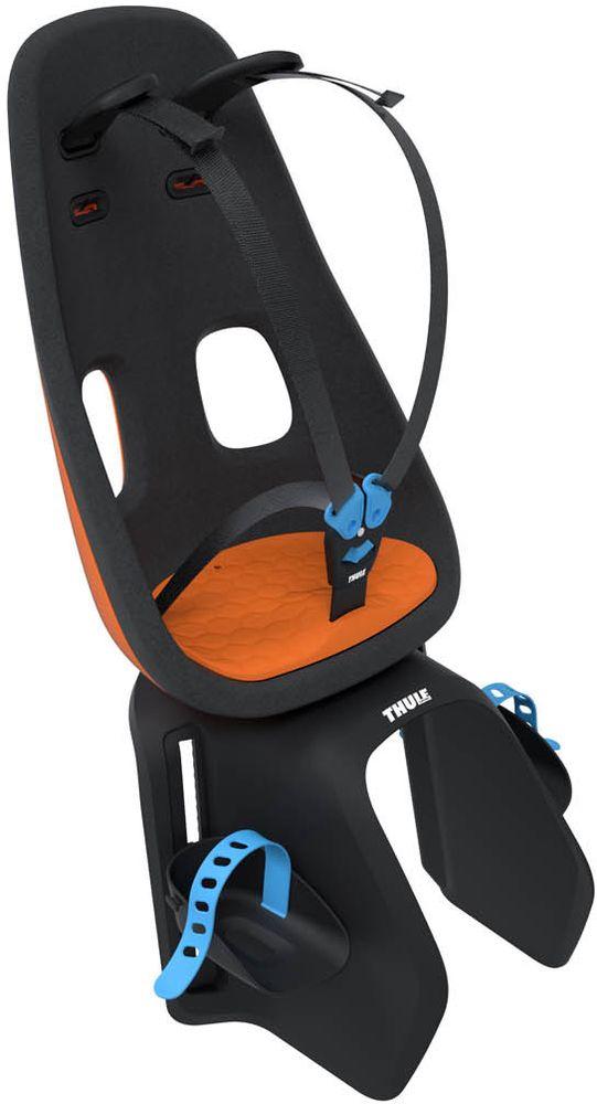 Детское велокресло Thule Yepp Nexxt Maxi Universal Mount, цвет: оранжевыйMW-1462-01-SR серебристыйДетское велосипедное кресло для установки на раму велосипеда или велобагажник.