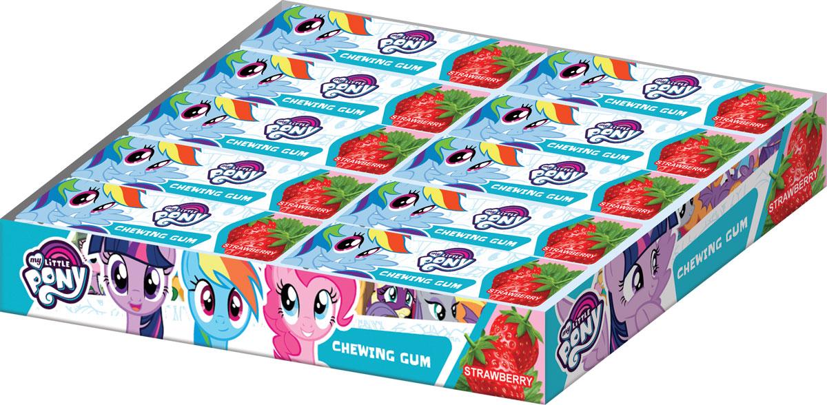 My Little Pony жевательная резинка в пластинках, 20 шт по 13 г0120710Жевательная резинка в пластинках, со вкусом клубники, без красителя.