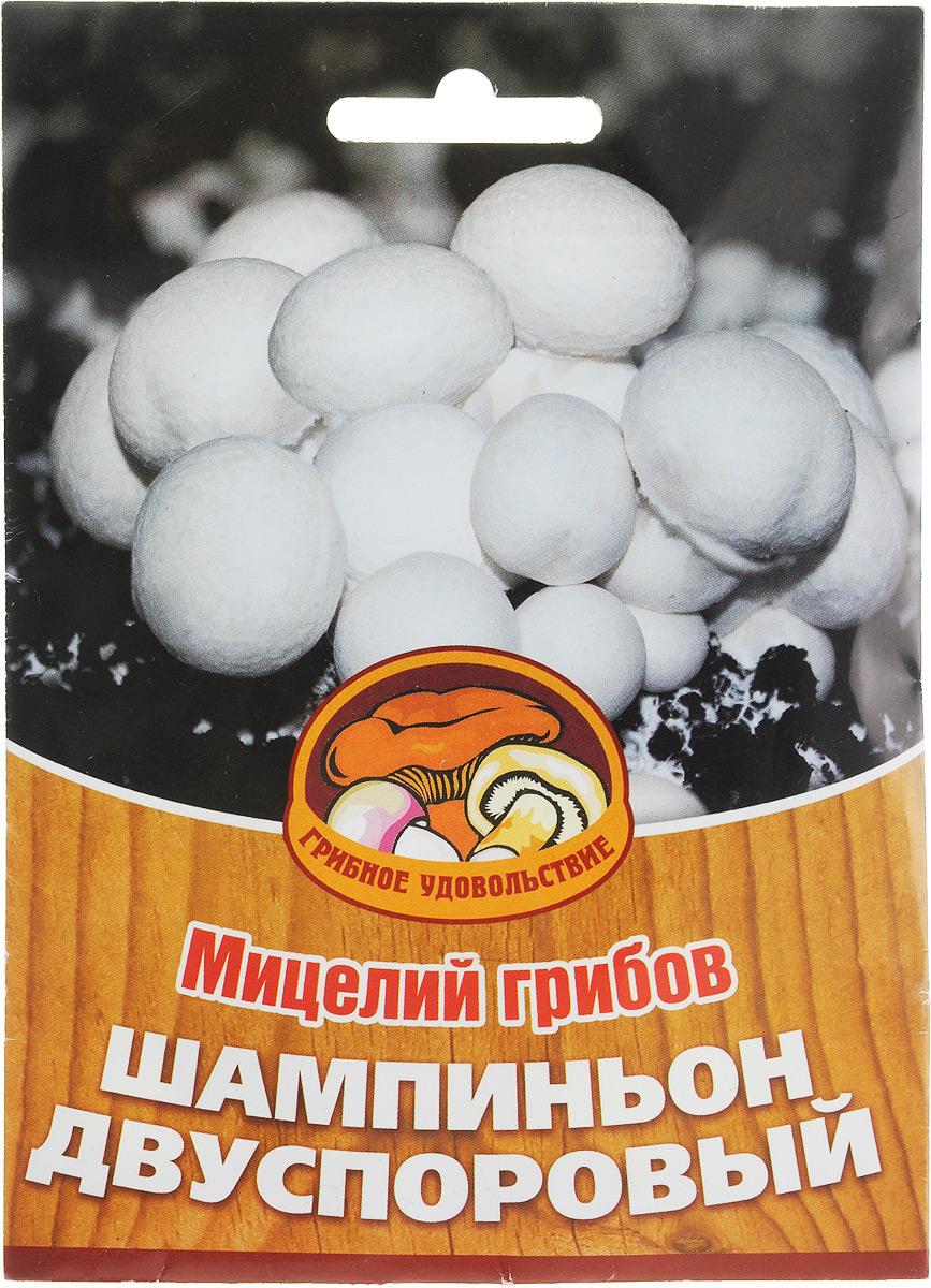 Мицелий грибов Шампиньон двуспоровый, субстрат. Объем 60 мл мицелий грибов груздь белый субстрат 60 мл