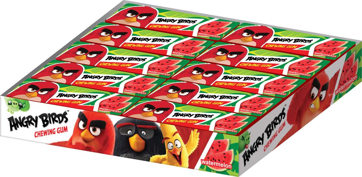 Angry Birds Movie жевательная резинка в пластинках, 20 шт по 13 г0120710Жевательная резинка в пластинках, со вкусом арбуза, без красителя.