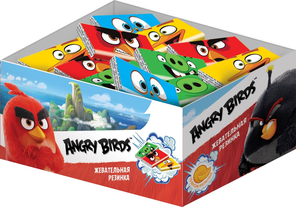 Angry Birds Movie жевательная резинка с тату, 100 шт по 2,5 г0120710Жевательная резинка в бумажной обертке с татушкой внутри.