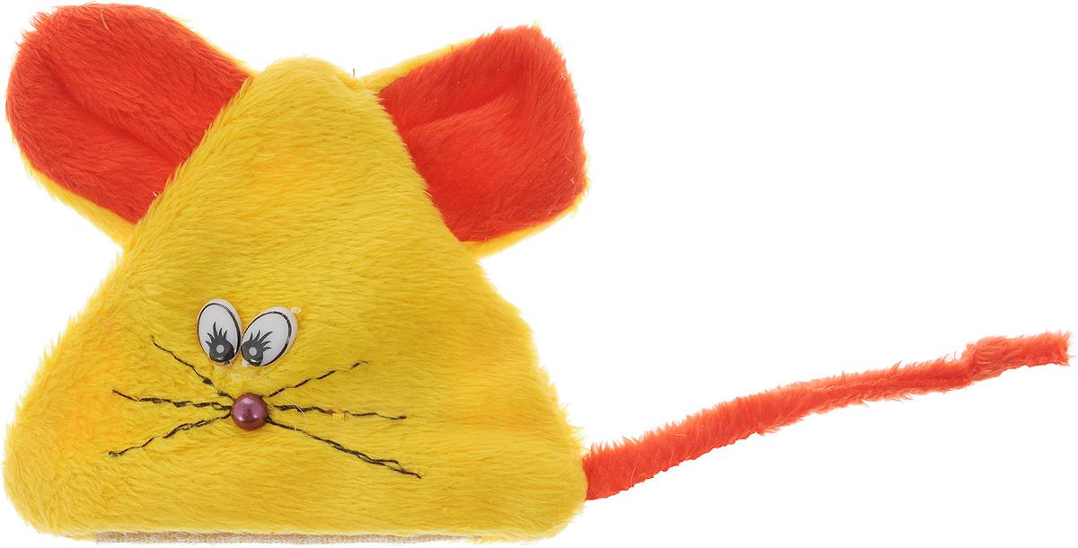 Игрушка для кошек GLG Мышь на липучке, с экстрактом кошачей мяты, цвет: желтый, красный0120710Игрушка для кошек GLG Мышь на липучке выполнена из мягкого текстиля. Играя с этой забавной игрушкой, маленькие котята развиваются физически, а взрослые кошки и коты поддерживают свой мышечный тонус. Изделие выполнено в виде мыши. Внутри расположен мешочек с кошачьей мятой, который привлечет кошку. Кошачья мята - растение, запах которого делает кошку более игривой и любопытной. С помощью этого средства кошка легче перенесет путешествие на автомобиле, посещение ветеринарного врача, переезд на новую квартиру.