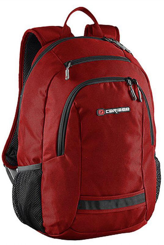 Caribee Рюкзак Nile цвет красный64232Рюкзак Caribee Nile - это вместительный городской рюкзак.Спинка рюкзака имеет удобное строение и мягкую обивку. Лямки S-образной формы можно адаптировать под рост за счет подвесной системы. Главное отделение рюкзака вмещает ноутбук с диагональю экрана до 15.4.Материал, который применяется при изготовлении рюкзака, устойчив к перепадам температуры и света, ультрафиолета и влаги.