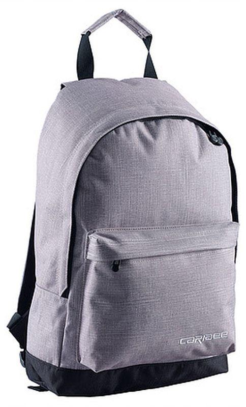 Caribee Рюкзак Campus цвет серый64703Рюкзак Caribee Campus - стильный городской рюкзак, который вмещает все необходимое в течение дня. Рюкзак имеет просторное внутреннее отделение, которое подходит для документов формата А4. На передней панели рюкзака находится вместительный карман на молнии.Рюкзак изготовлен из прочной невыцветающей ткани, легко поддающейся чистке.