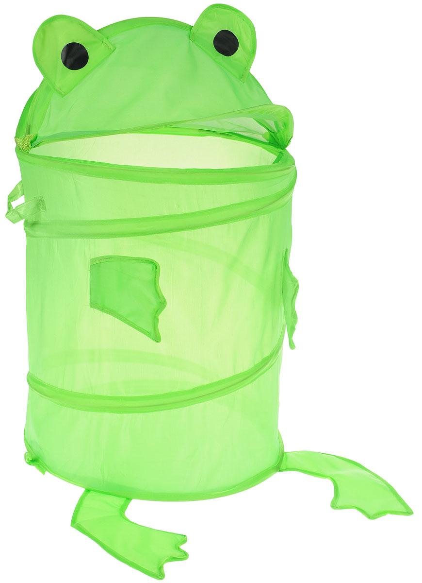 NEW COMMODITY Ящик для хранения ЛягушкаPANTERA SPX-2RSЯщик для хранения NEW COMMODITY Лягушка поможет вам навести порядок в детской.Размер изделия позволяет хранить в нем игрушки, книжки или белье. Ящик легко складывается, когда в его использовании нет необходимости, тем самым сохраняя простор вашего дома.Это идеальный подарок для детей.