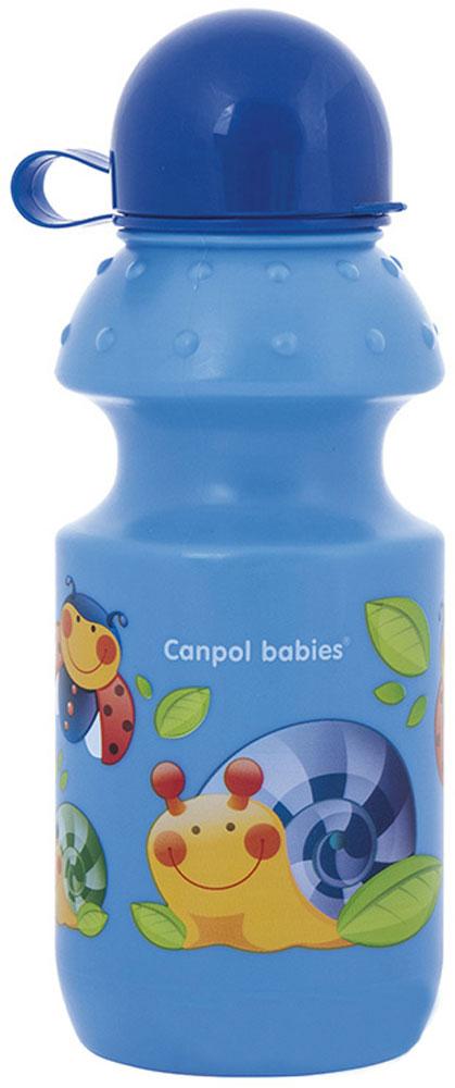 Canpol Babies Поильник спортивный от 12 месяцев цвет синий 360 мл