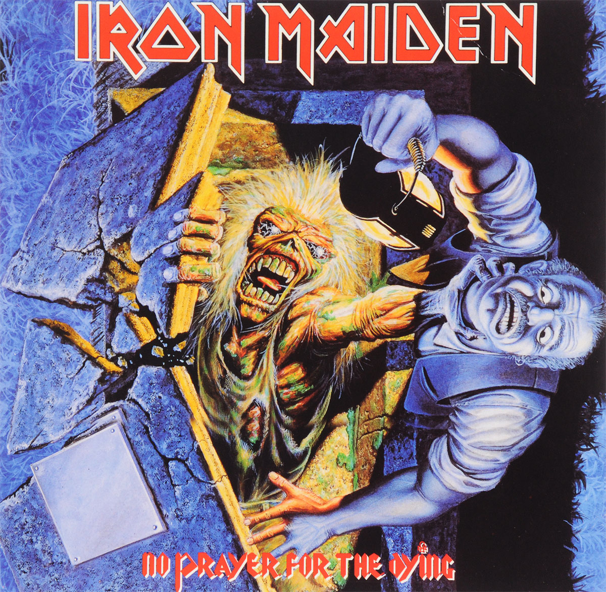 Iron Maiden Iron Maiden. No Prayer For The Dying (LP) iron maiden – the book of souls live chapter 3 lp