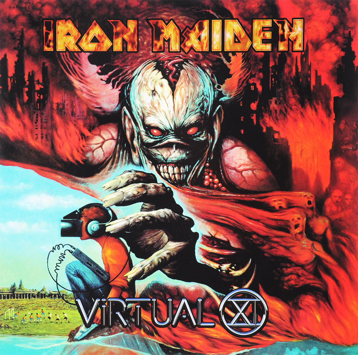Iron Maiden Iron Maiden. Virtual XI (2 LP) iron maiden – the book of souls live chapter 3 lp