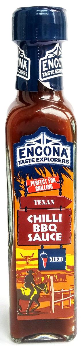 Encona Чили барбекю по-техасски соус ,142 мл259705Ароматный соус приготовлен по особому техасскому рецепту с использованием жгучих перцев — хабанеро и скотч боннет. Его насыщенный пикантный вкус прекрасно впишется в самые разнообразные блюда, расставив в них яркие акценты! Ароматный соус приготовлен по особому техасскому рецепту с использованием жгучих перцев — хабанеро и скотч боннет. Его насыщенный пикантный вкус прекрасно впишется в самые разнообразные блюда, расставив в них яркие акценты! Внимание аллергиков: содержит горчицу!