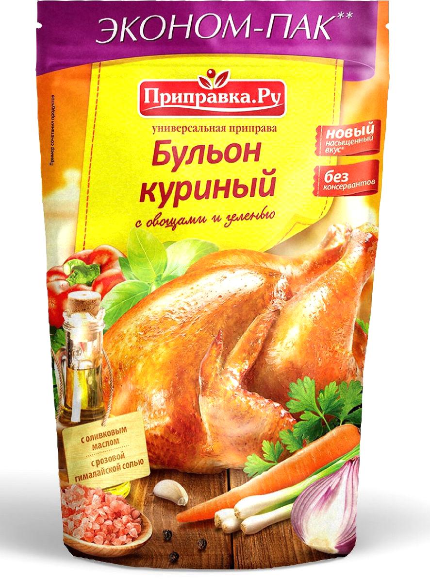 Приправка.Ру Бульон куриный с овощами и зеленью приправа универсальная, 180 г140074Приправа содержит натуральную минеральную гималайскую соль и оливковое масло.