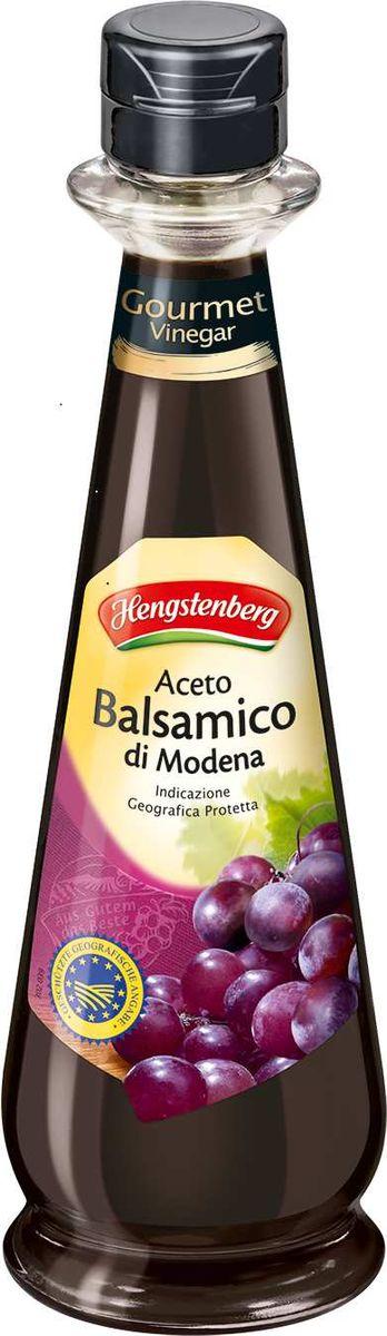 Hengstenberg di Modena уксус бальзамический, 250 мл2821Уксус бальзамический Моденский - уксус на основе винного укуса с добавлением виноградного сусла, кислотность 6%.