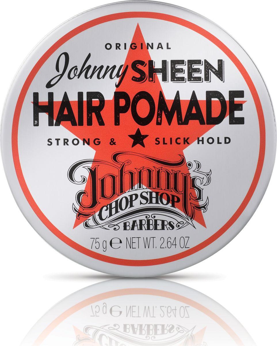 Johnnys Chop Shop Johnnys Sheen Hair Pomade помада для волос, 75 гMP59.4DГлянцевый эффект и жёсткая фиксация. Подходит для всех типов волос. Создаёт образ настоящей рок-звезды. Водная основа помадки облегчает её смывание. Содержит смесь активных компонентов, в том числе масло Жожоба, провитамин В5 и глицерин для обеспечения длительного увлажнения и сияния, а также для предотвращения повреждения волос. Кофеин в составе помадки надолго зарядит энергией. Без парабенов.