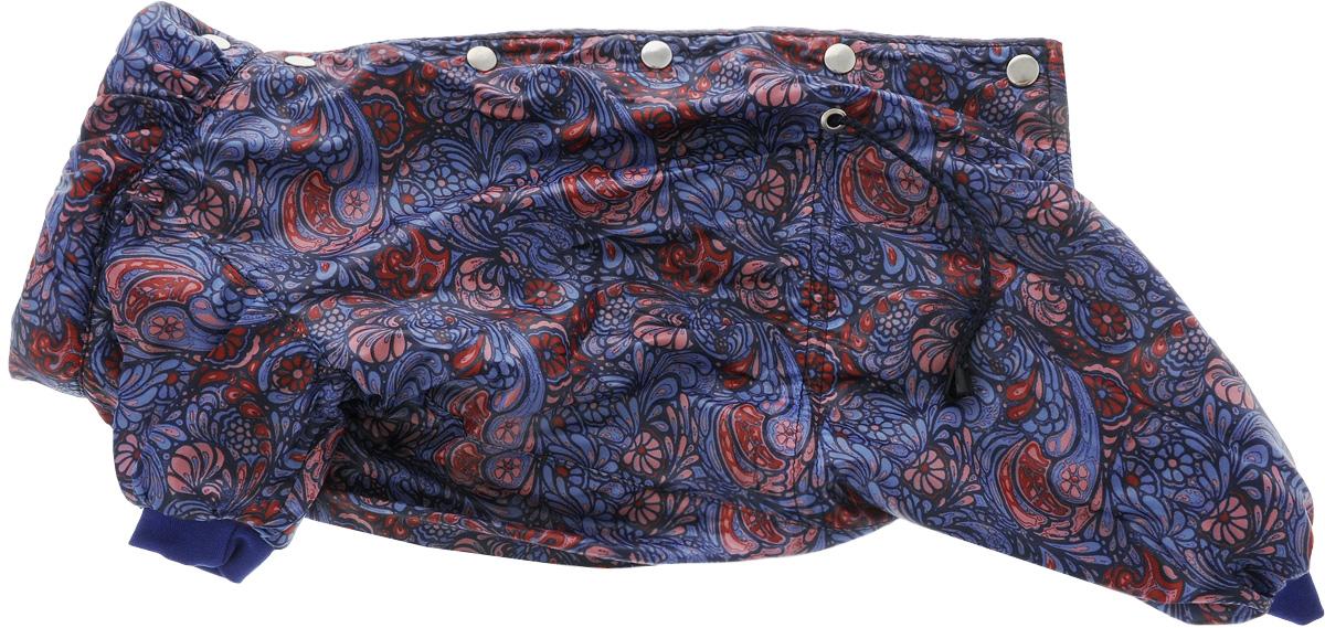Комбинезон Yoriki Каприз, мужской. Размер XL0120710Комбинезон Yoriki Каприз отлично защитит вашего питомца от грязи и насекомых. Комбинезон изготовлен из натурального хлопка и оформлен оригинальным принтом.Модель застегивается металлическими кнопками и дополнена утягивающими шнурками в поясе. Благодаря такому комбинезону вашему питомцу будет комфортно наслаждаться прогулкой.