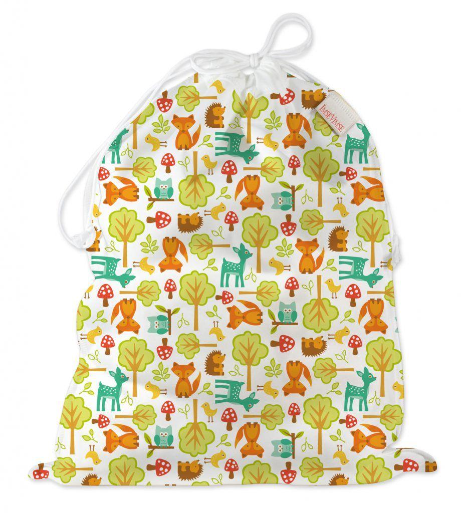 ImseVimse Водонепроницаемая сумка со шнуром Woodland - Все для детского кормления