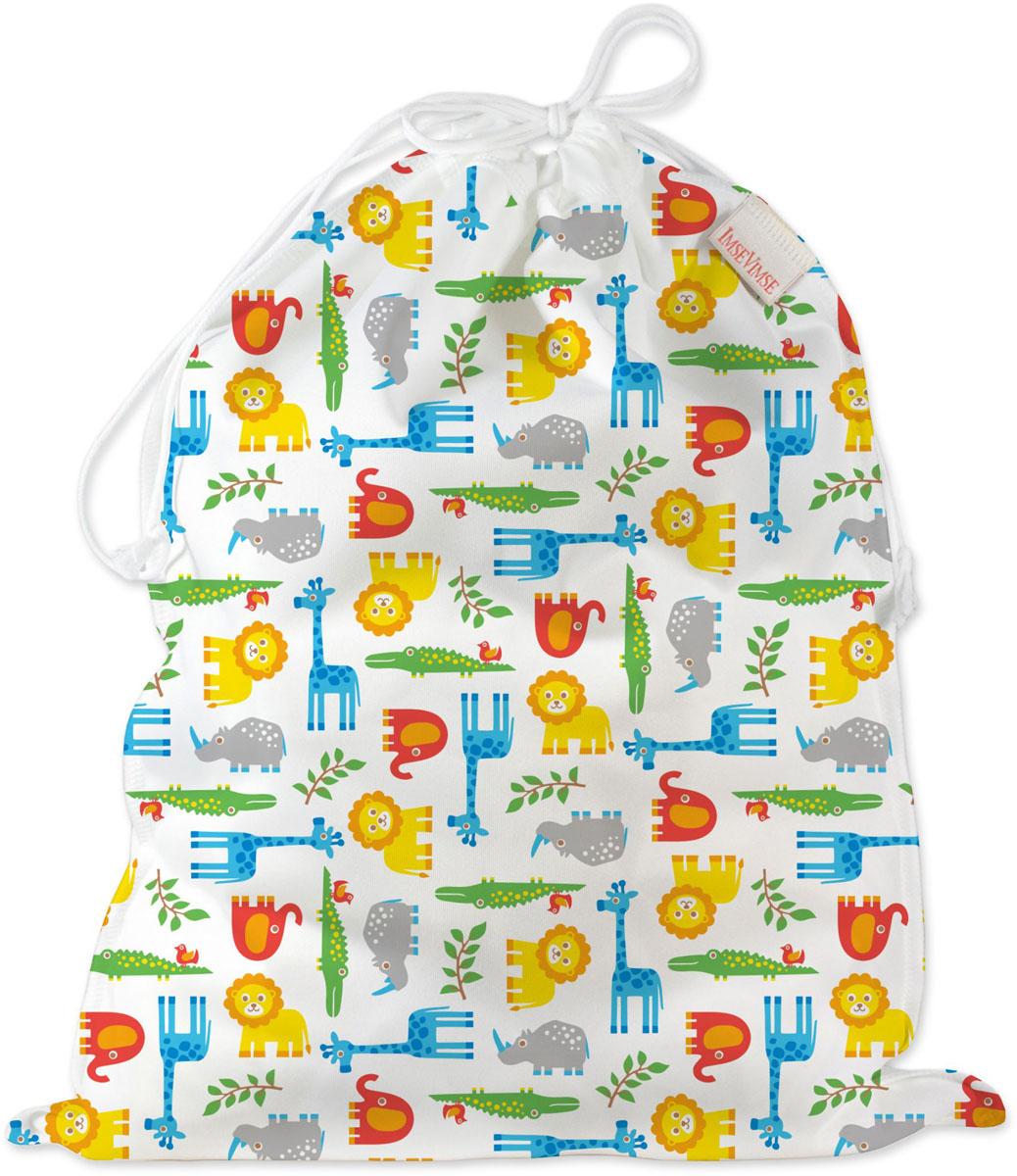 ImseVimse Водонепроницаемая сумка со шнуром Zoo - Все для детского кормления