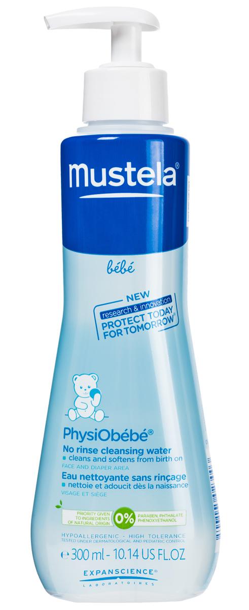 Mustela Очищающая вода для новорожденных и детей, не требует смывания, 300 млFS-00103Назначение: Средство предназначено для очищения кожи лица и областипод подгузником. Подходит для ежедневной гигиены малыша с рожденияСвойства: Благодаря формуле, обогащенной запатентованным природнымкомпонентом Avocado Perseose®, способствует укреплению кожного барьерамалыша и сохранению клеточных ресурсов его кожи. Эффективно очищает кожу лица и область под подгузником. Смягчает кожу благодаря содержанию экстракта Алоэ вера и аллантоину. Подходит для самой нежной кожи.Инструкция по использованию: Смочите ватный тампон и аккуратно протрите кожу лица или области под подгузником. Повторяйте процедуру до тех пор, пока ватный тампон не останется абсолютно чистым. Не требует смывания.