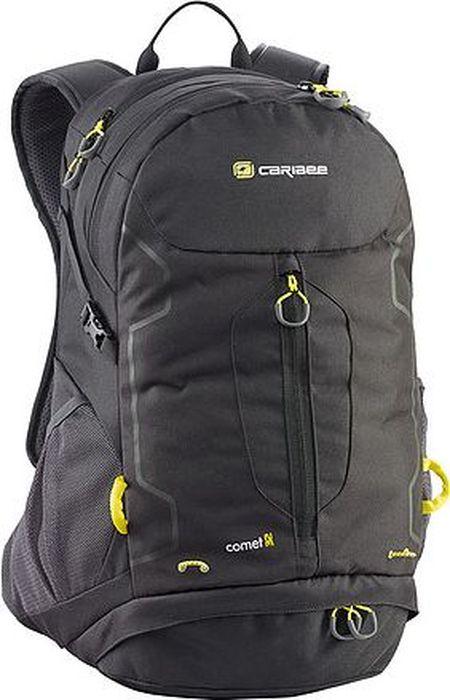 Рюкзак Caribee Comet, цвет: черный, 32 л6095Рюкзак Caribee Comet идеально подойдет для города. Особенности модели:- он оснащен крупной застежкой на молнии, передним вертикальным карманом и боковыми карманами для бутылки с водой;- спинка рюкзака имеет удобное строение и мягкую обивку;- лямки S-образной формы можно адаптировать под рост за счет подвесной системы;- материал устойчив к перепадам температуры и света, ультрафиолета и влаги.