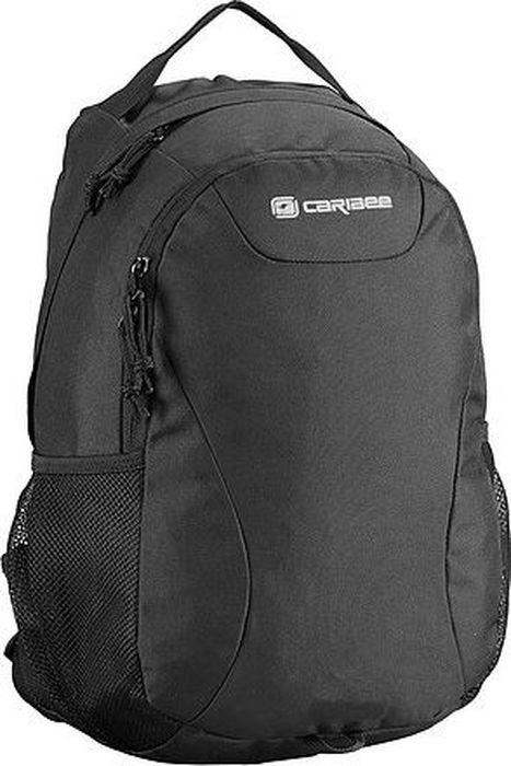 Рюкзак Caribee Amazon, цвет: черный, 20 л031652226890Универсальный рюкзак предназначенный для школы, университета, работы или городских прогулок. Двойное отделение оснащено мягким чехлом для планшета. Передний карман с дополнительной застежкой-молнией, а ранец - с удобной ручкой для переноски.