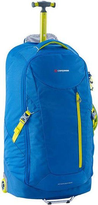 Рюкзак на колесах Caribee Stratosphere, цвет: синий, 75 лDRF-F367Легкая и инновационная дорожная сумка весом до 3 кг. Большой основной отсек для хранения на молнии. Наличие задних плечевые лямок автоматически превращают чемодан на колесах в рюкзак.
