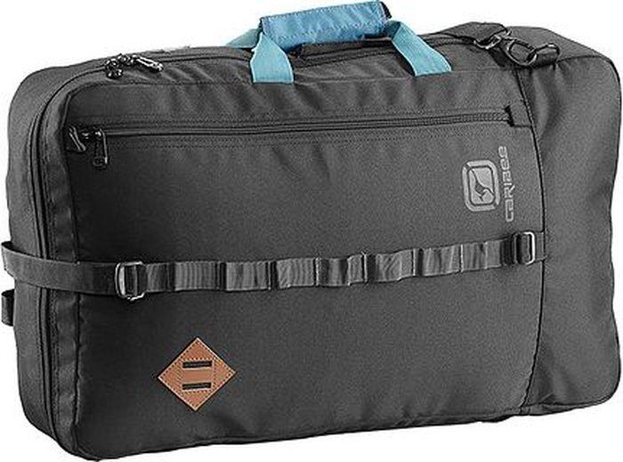 Сумка дорожная Caribee Red Wing Cabin Bag, цвет: черный, 38 лMW-1462-01-SR серебристыйСумка RED WING - идеальная сумка для салона авиакомпании. Сумка оснащена скрываемыми задними наплечными ремнями, а также съемным боковым плечевым ремнем. Удобная легкая сумка для путешествий.