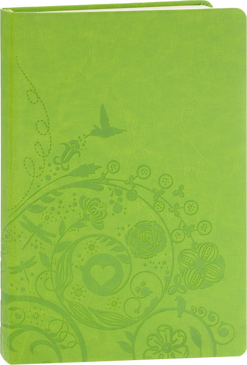 Brauberg Блокнот Feelings 128 листов в линейку цвет зеленый123397Бизнес-блокнот Brauberg Feelings - незаменимый атрибут современного человека, необходимый для рабочих и повседневных записей в офисе и дома.Мягкая интегральная обложка кожа с тиснением. Блокнот с закругленными уголками содержит 128 листов кремовой бумаги формата А5 с разметкой в линейку. Имеет закладку-ляссе.Бизнес-блокнот станет достойным аксессуаром среди ваших канцелярских принадлежностей. Такой блокнот пригодится как для деловых людей, так и для любителей записывать свои мысли, писать мемуары или делать наброски новых стихотворений.