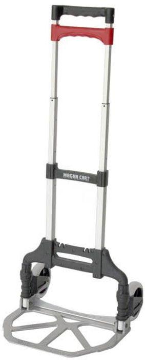 Тележка складная Стелла MCX, 28 х 39 х 98 смCA-3505Складная тележка Стелла MCX – легкая тележка для перевозки грузов весом до 68 кг. Тележка изготовлена из алюминия и пластика. Вес тележки 3,2 кг. Размер площадки 27,9 х 38,7 см. Максимальная высота ручки 98 см.Тележка применяется для транспортировки товаров и багажа.Резиновые колеса изготовлены методом отливки и не содержат внутри воздушных полостей,что увеличивает срок эксплуатации модели.Тележка раскладывается без усилий со стороны пользователя - достаточно нажать кнопку. Телескопическая ручка регулируется под рост пользователя, что обеспечивает удобную эксплуатацию складной тележки Стелла MCX.Платформа приспособления легко складывается, благодаря чему оно отличается компактностью и простотой транспортировки.