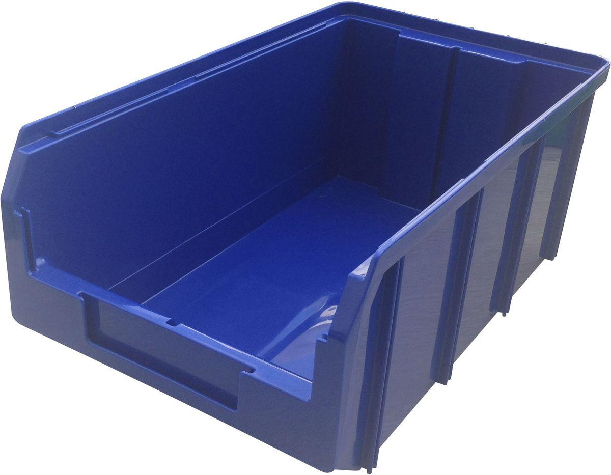 Ящик пластиковый Стелла V-3, цвет: синий, 14,3 х 20,7 х 34,1 смCA-3505Пластиковый ящик V-3 (341 х 207 х 143 мм) используется на складах для хранения мелких предметов. Лоток имеет возможность наращивания передней стенки и размещения дополнительных разделительных перегородок. Карман на лицевой панели, где можно разместить быстросменный ярлык с информацией.Вес, кг: 0,60. Габариты, мм: 341 x 207 x 143. Объем 9,4 л. Удобные ручки для транспортировки. Дополнительные ребра жесткости на боковых стенках. Материал - ударопрочный пропилен. Возможность штабелирования контейнеров друг на друга в высоту. Зацеп на задней стенке контейнера позволяет прочно фиксировать его на специальных стойках.